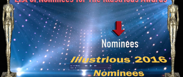 Image for Illustrious Awards 2016 nominees